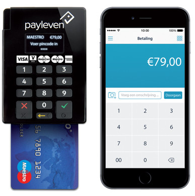 Payleven mobiele pinautomaat