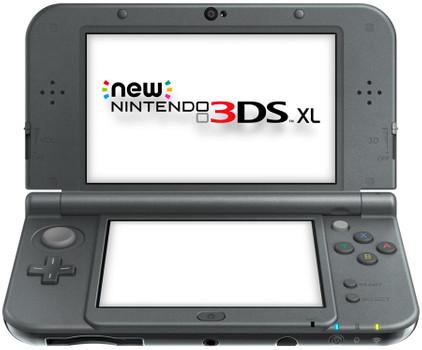 New Nintendo 3DS XL Zwart Metallic