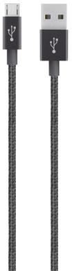 Belkin Mixit Premium Braided Micro USB Kabel Zwart