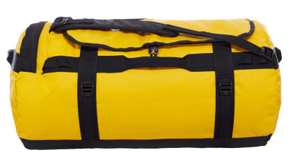The North Face Base Camp Duffel Summit Gold/TNF Black  L