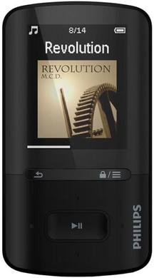 Philips GoGear Vibe 4GB Zwart