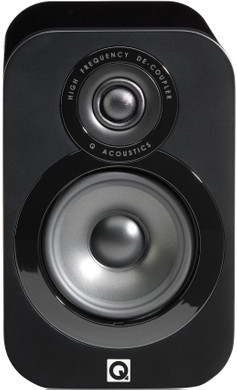 Q Acoustics 3010 Hoogglans Zwart (per paar)