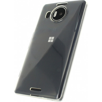 Mobilize Gelly Case Microsoft Lumia 950 XL Transparant