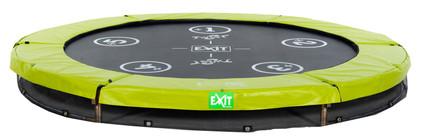 Exit Twist Inground 244 cm Groen/Grijs