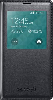 Samsung Galaxy S5 S View Cover Zwart