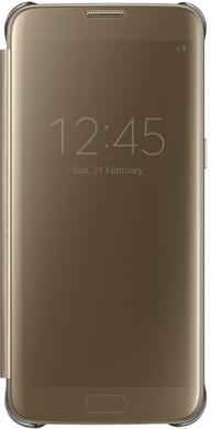Samsung Galaxy S7 Edge Clear View Cover Goud