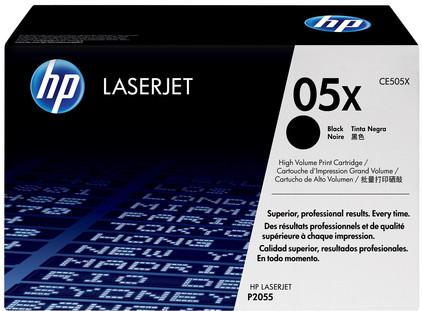 HP 05X LaserJet Toner Zwart (CE505X)