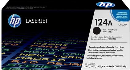 HP 124A Q6000A Black LaserJet Toner (zwart)