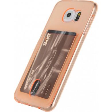 Xccess TPU Card Case Samsung Galaxy S6 Oranje