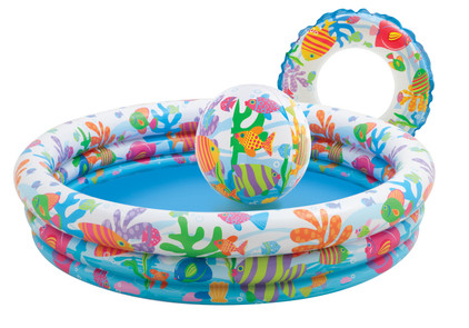 Intex Vissenkom Zwembad Set