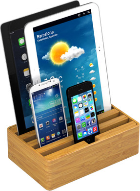 Alldock Docking Station Medium Bamboe