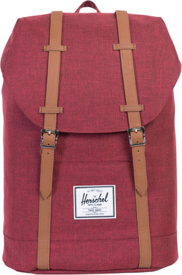 Herschel Retreat Winetasting Crosshatch/Tan Synthetic Leather