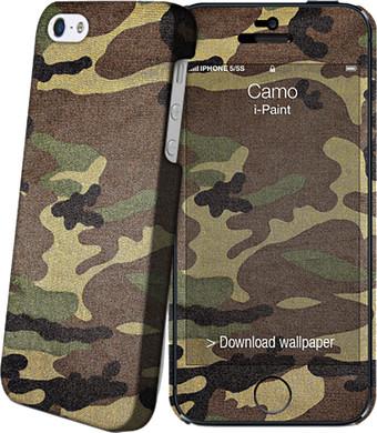 I-Paint Cover Apple iPhone 5/5S/SE Camo