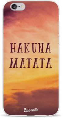 Casetastic Softcover Apple iPhone 5/5S/SE Hakuna Matata