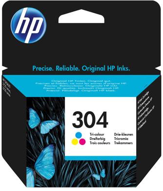 HP 304 Cartridge 3-Kleuren Pack (N9K05AE)