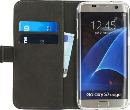 Mobilize Gelly Wallet Book Case Samsung Galaxy S7 Edge Zwart