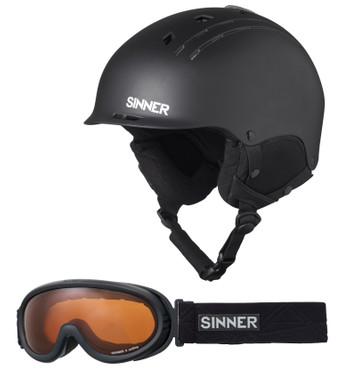 Sinner Combi-P Pincher+Runner Il Matte Black (59 - 60 cm)