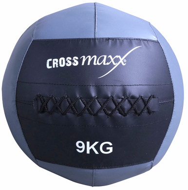 Crossmaxx Wall Ball 9 kg Grey