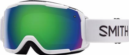 Smith Grom Junior White + Green Sol X Lens