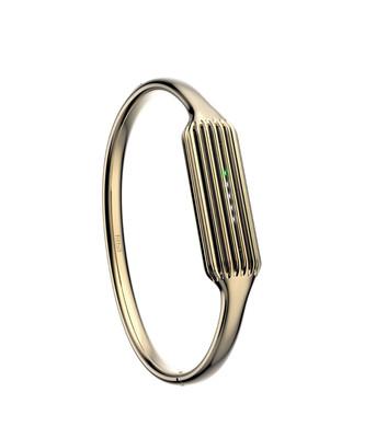 Fitbit Flex 2 Bangle Polsband Gold - S