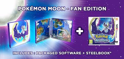 Pokemon Moon Steelcase Edition 3DS