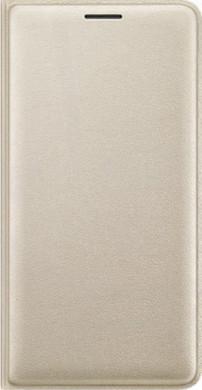 Samsung Galaxy J3 (2016) Flip Wallet Goud