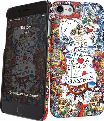 i-Paint Cover Apple iPhone 7/8 Tattoo