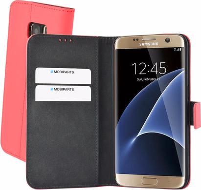 Mobiparts Premium Wallet Case Samsung Galaxy S7 Roze