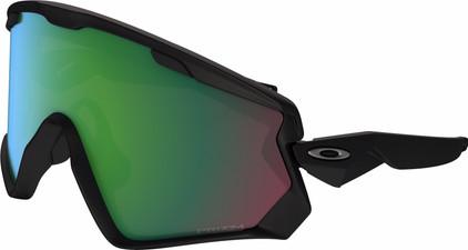 Oakley Wind Jacket 2.0 Black + Prizm Jade Iridium Lens