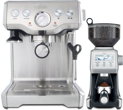 Solis Caffespresso Pro + Solis Caffissima IQ Grinder