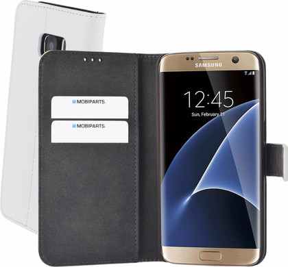 Mobiparts Premium Wallet Case Samsung Galaxy S7 Wit