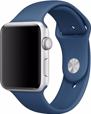 Apple Watch 38mm Polsband Sport Oceaanblauw