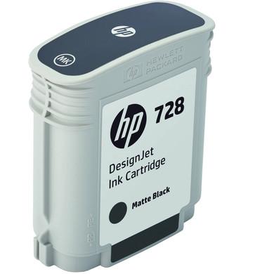 HP 728 Cartridge Matzwart (F9J64A)
