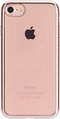 Xqisit Flex Case Chromed Edge Apple iPhone 7/8 Rose Gold
