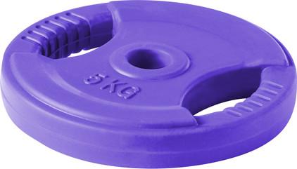 Lifemaxx Body Pump Disc 10 kg Purple
