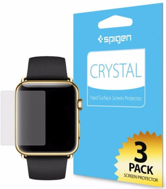 Spigen Screen Protector Chrystal 3-pack Apple Watch 42mm