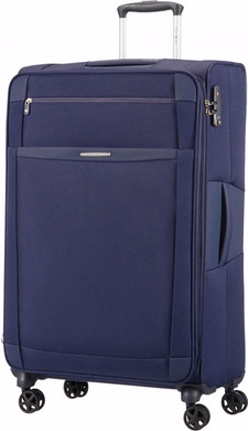 Samsonite Dynamo Expandable Spinner 78cm Navy Blue