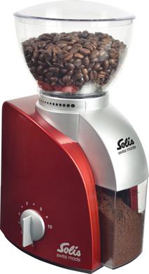 Solis Scala 166 Koffiemolen Rood