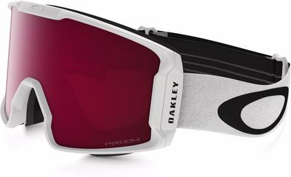 Oakley Line Miner White + Prizm Inferno Rose Lens