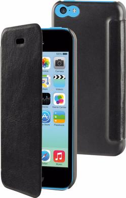 Muvit Folio Apple iPhone 5C Book Case Zwart