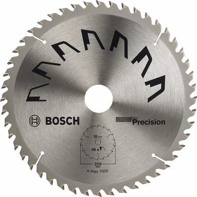 Bosch Zaagblad  Precision 210x30x2mm T48