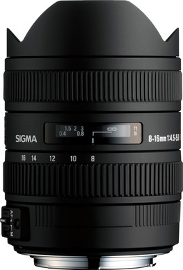 Sigma 8-16mm f/4.5-5.6 DC HSM Sony
