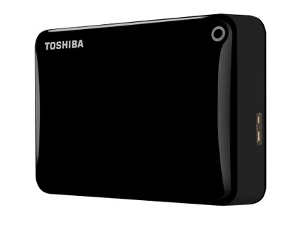 Toshiba Canvio Connect II 2 TB Zwart