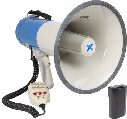 Vexus MEG065 Megafoon 65W Wit/Blauw