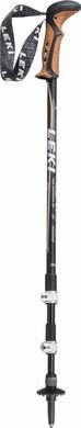 Leki Corklite Anti Shock Black/Dark Anthracite 135 cm