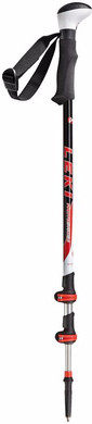 Leki Photosystem Aluminium Black/Red 150 cm