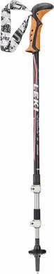 Leki Corklite Black/Dark Anthracite 135 cm
