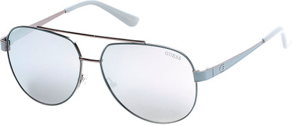 Guess GU7460 86C Light Blue / Grey Mirror