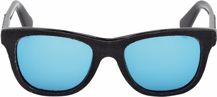 Diesel DL0200 01X Black / Blue Mirror