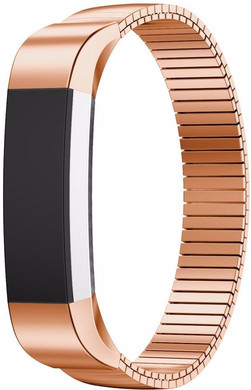 Just in Case Milanees Chain RVS Polsband Fitbit Alta Rose Gold